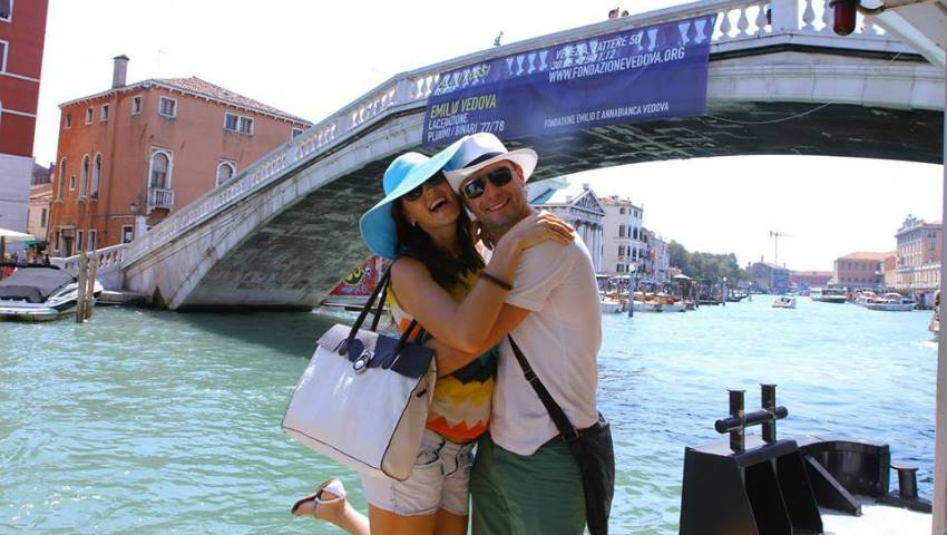 """Foto: Istorii la înălțime cu Tatiana Heghea: """"Veneția este orașul care m-a făcut de trei ori mai romantică"""""""