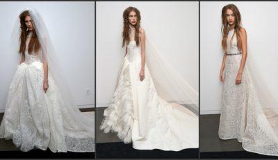 Noua colecție de rochii de mireasă by Vera Vang