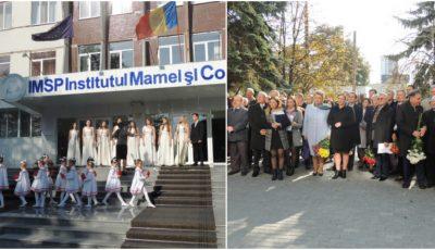 Medicii Eugeniu Gladun şi Petru Stratulat, comemoraţi la Institutul Mamei şi Copilului