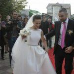Foto: Andreea Răducanu mireasă. Nadia Comăneci s-a aflat printre invitaţi