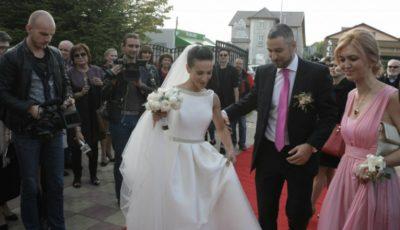 Andreea Răducanu mireasă. Nadia Comăneci s-a aflat printre invitaţi