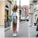 Foto: Cum să porți fusta metalică în acest sezon