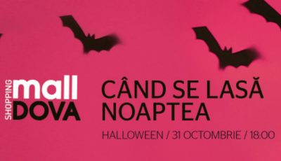 "Distracții ""fioroase"" de Halloween, la Shopping MallDova"