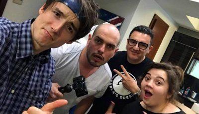 Vloggerii moldoveni Ilie și Ruxy colaborează cu Matei de la BRomânia!