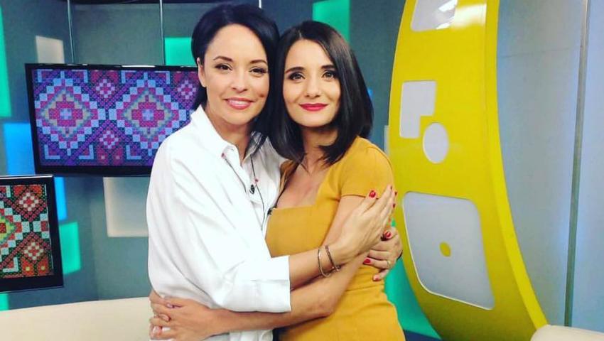 Foto: Iulia Albu critică dur ţinuta în care Andreea Marin a venit la Chişinău!