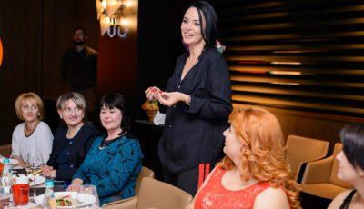 Cele 15 femei care schimbă Moldova au luat cina cu Andreea Marin