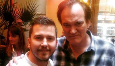 Un bucătar din Moldova a gătit pentru Quentin Tarantino