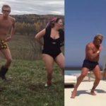 Foto: 2 parodişti ruşi imită dansul miliardarului Gianluca Vacchi