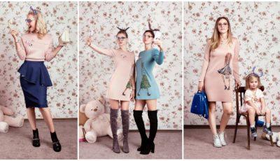 Olga Blanc s-a reprofilat. A creat o colecţie de haine chic