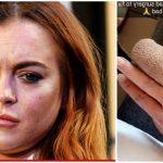 Foto: Lindsay Lohan a rămas fără jumătate de deget