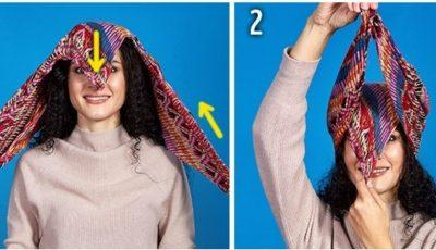 Cum poţi purta eşarfa în această toamnă