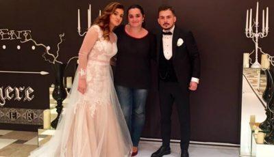 Viorica Lupu a jucat nunta la 2 ani de la cununie. FOTO de la eveniment