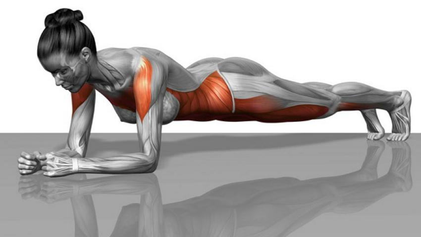 Foto: Exercițiul care îți întărește mușchii spatelui și abdominalii inferiori!