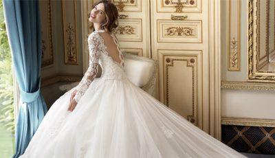 Vrei să îmbraci o rochie de mireasă cu mâneci lungi? Vezi cum o accesorizăm corect