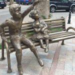 Foto: O sculptură mai puţin obişnuită şi-a făcut apariţia în centrul Capitalei!