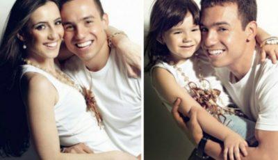 La doi ani după ce i-a murit soţia, a reconstituit pozele emoţionante cu fiica sa