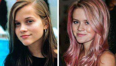 Fiicele vedetelor de la Hollywood seamănă leit cu mamele lor!