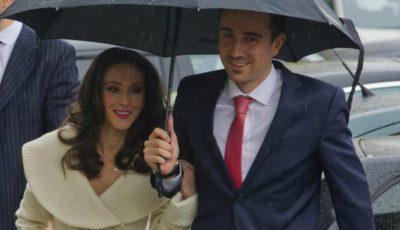 Gimnasta Andreea Răducan s-a căsătorit! Primele imagini de la cununie