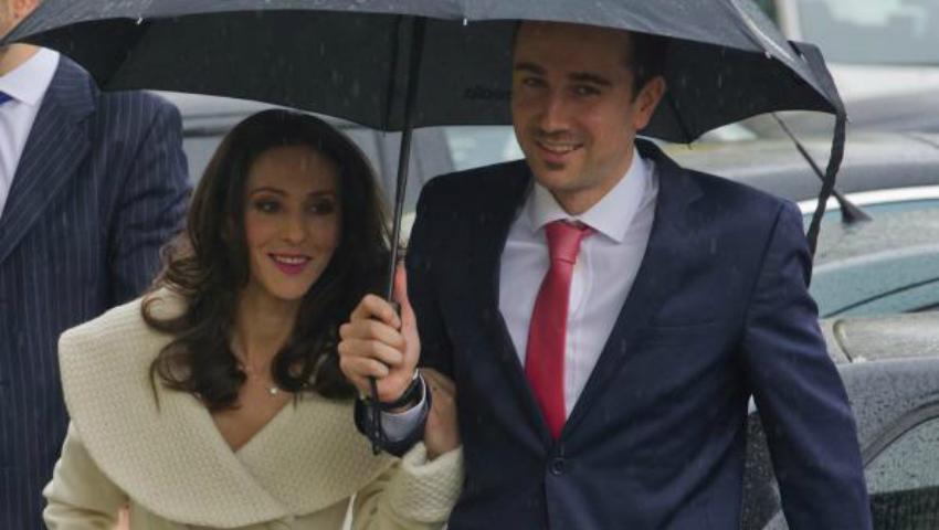 Foto: Gimnasta Andreea Răducan s-a căsătorit! Primele imagini de la cununie