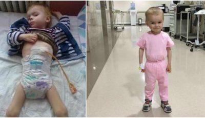 Băieţelul care a suferit o arsură la esofag, a fost ajutat de 20 de mii de mămici de la Ask a Mom