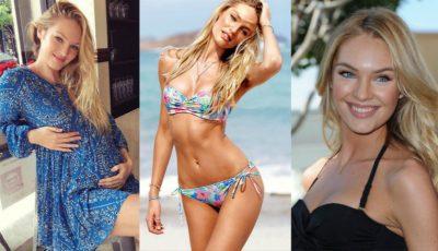 Celebrul model Candice Swanepoel a devenit pentru prima dată mamă!