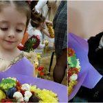 Foto: Fetiţa Marianei Şura a participat la primul matineu!