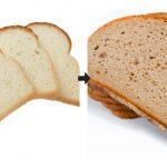Foto: Ce se întâmplă în corpul tău dacă înlocuiești pâinea albă cu cea neagră în meniu