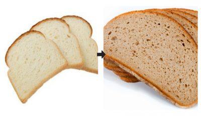 Ce se întâmplă în corpul tău dacă înlocuiești pâinea albă cu cea neagră în meniu