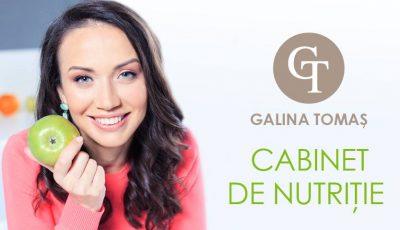 Vrei să slăbești sănătos? Programează-te la o consultație la medicul nutriționist Galina Tomaș