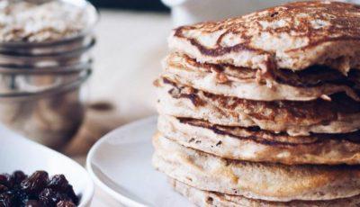 Pancakes cu fulgi de ovăz