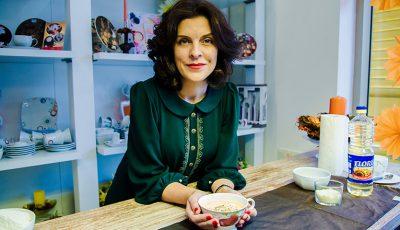 Supa cremă de dovleac din albumul de rețete de la Kasandruța