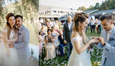 Revista Nunta by Aura recomandă: Gabi Marcu și Cristina Evtodii. O nuntă cu aromă mov