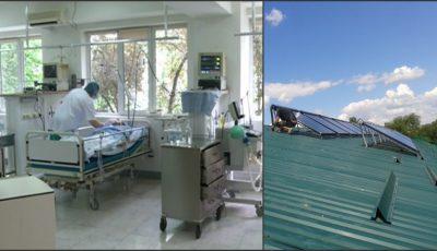 Un spital din Moldova beneficiază de încălzire şi apă caldă de la energia solară, datorită unui grant european!