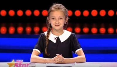 O fetiță din Chișinău i-a amuzat pe jurații de la Next Star!