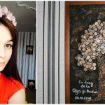 Foto: Face tablouri din bănuți și accesorii din piele, dar nu se oprește aici. Nicoleta Guranda va realiza un proiect exclusiv în Moldova