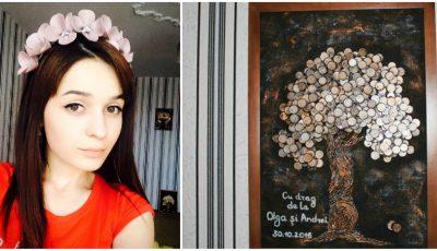 Face tablouri din bănuți și accesorii din piele, dar nu se oprește aici. Nicoleta Guranda va realiza un proiect exclusiv în Moldova