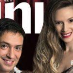 Foto: Adela Popescu a apărut cu Radu și micuțul lor pe coperta unei reviste!