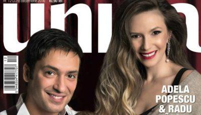 Adela Popescu a apărut cu Radu și micuțul lor pe coperta unei reviste!