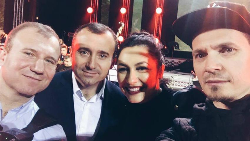 Foto: Sala a fost arhiplină la concertul fraților Advahov și a lui Alex Calancea Band