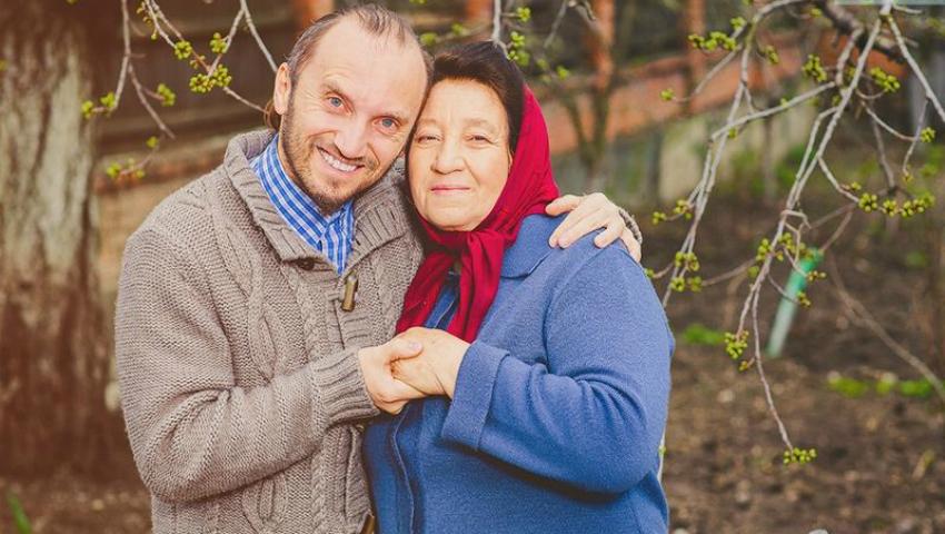 Foto: Anatol Durbală i-a scris un mesaj emoționant mamei sale!