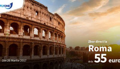 Din primăvară, zbori la Roma cu Fly One, mai ieftin ca niciodată!