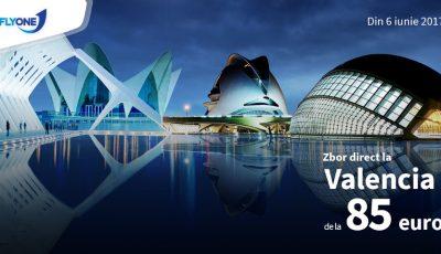 Din vară, Fly One va opera cursa directă Chișinău-Valencia!
