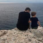 Foto: Dmitrii Shepelev l-a dus pe Platon la mare. Vezi cât de mult a crescut fiul Jannei Friske