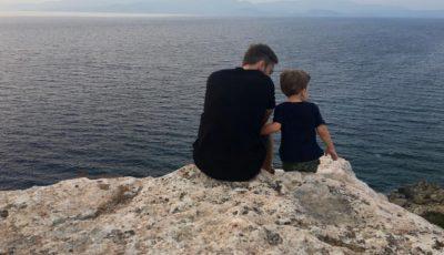 Dmitrii Shepelev l-a dus pe Platon la mare. Vezi cât de mult a crescut fiul Jannei Friske