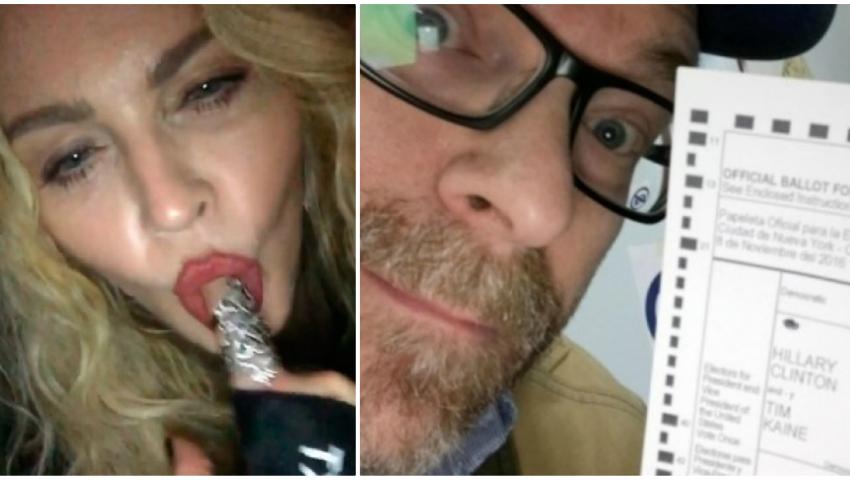 Foto: Madonna a promis că le face sex oral celor care o votează pe Hillary Clinton. Iată ce i-a răspuns unui bărbat care a făcut asta