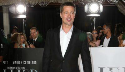 Brad Pitt, alături de o altă femeie pe covorul roșu!
