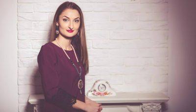 """Alina Mihailov: """"Bijuteriile hand-made create de mine sunt purtate în peste 27 de țări ale lumii"""""""