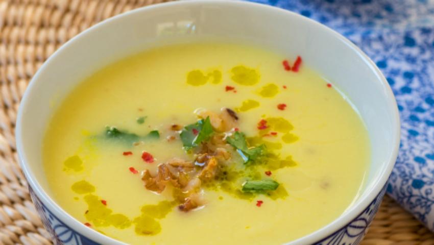 Foto: Supă cremă de conopidă!