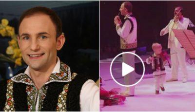 Ion Paladi în concert la Bucureşti alături de Lucian, fiul său de numai 2 ani! Video