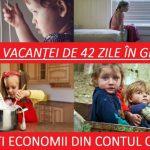 Foto: Mai mulţi părinţi semnează petiţia contra vacanţelor de 42 de zile în grădiniţe! Află detalii